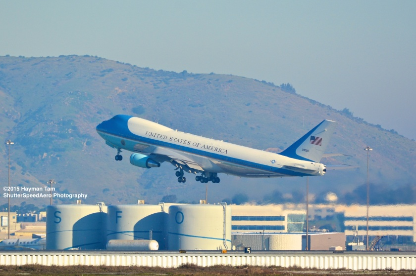 SFO,  Air Force One,