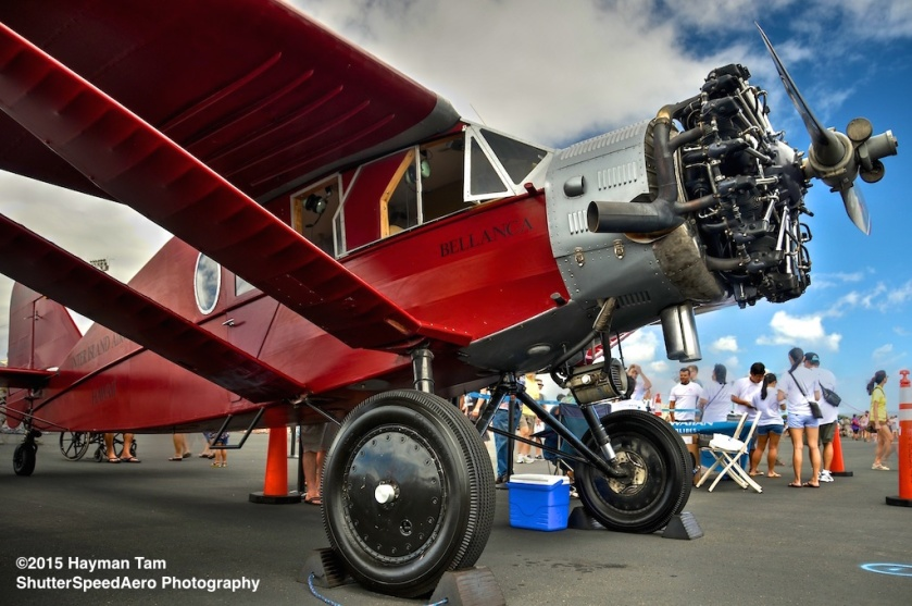 2014 Wings Over the Pacific,  1929 Bellanca Pacemaker,