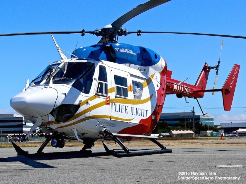 Vertical Challenge 9, helicopter , Hiller Museum .  Eurocopter BK117C1, N117SU